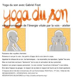 Yoga du Son avec Gabriel Feat