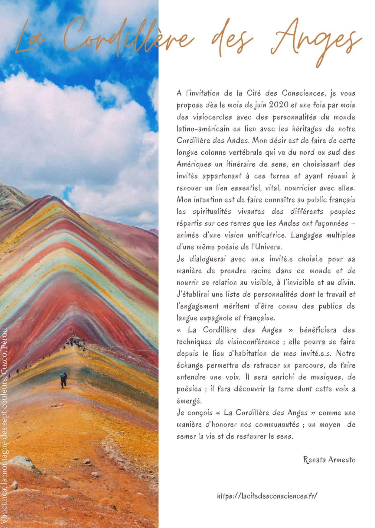 Renata Armesto - La Cordillere des Anges