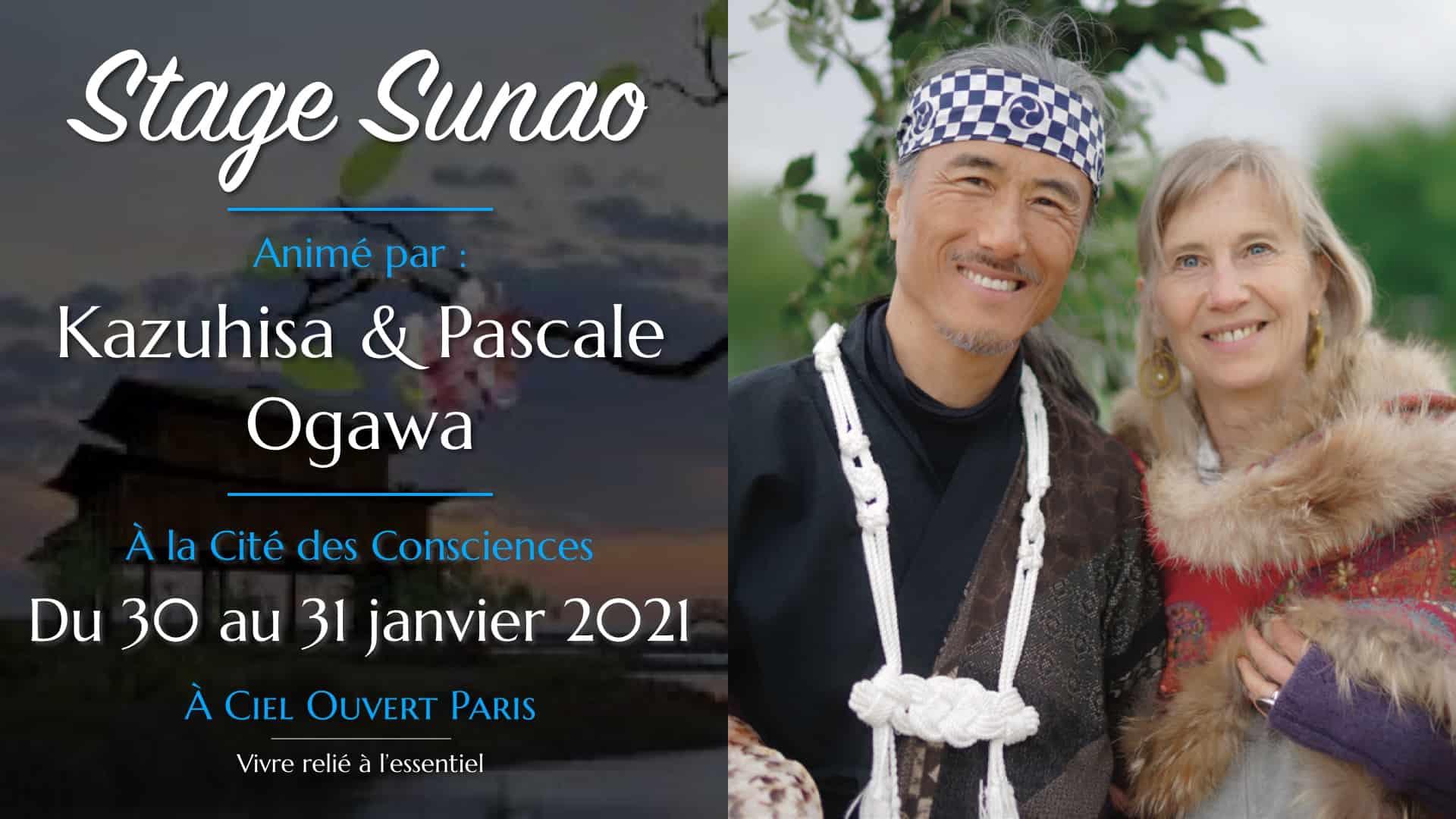 Stage Sunao – Un chemin vers votre véritable guérison – Kazuhisa & Pascale Ogawa