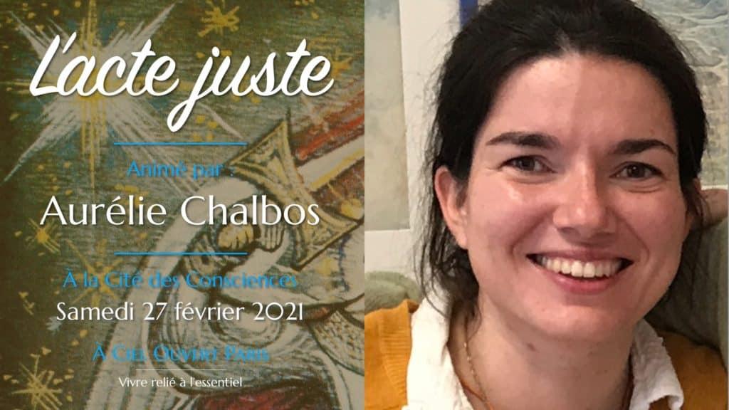 L'acte juste – Aurélie Chalbos