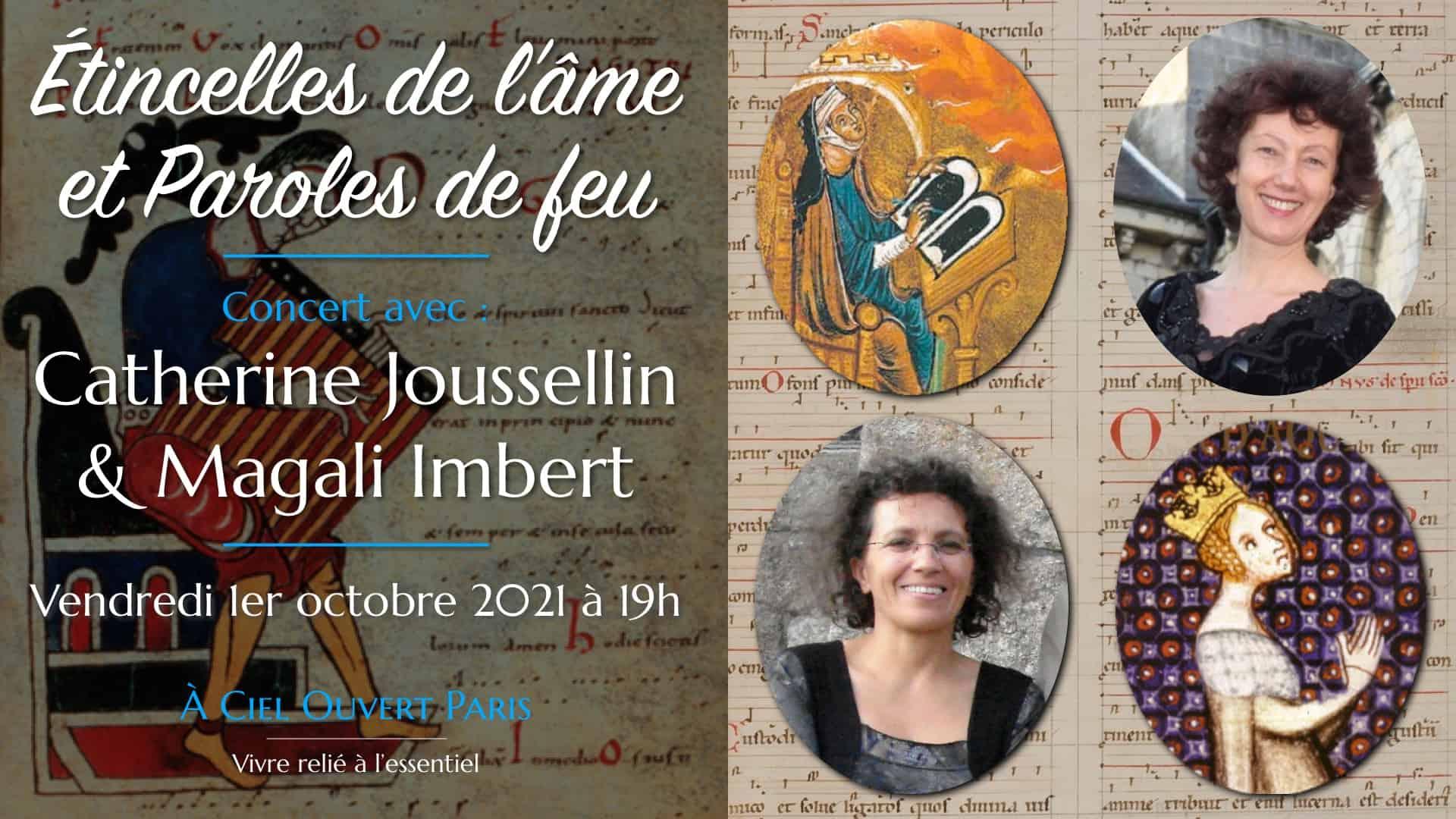 Étincelles de l'âme et Paroles de feu – Catherine Joussellin & Magali Imbert