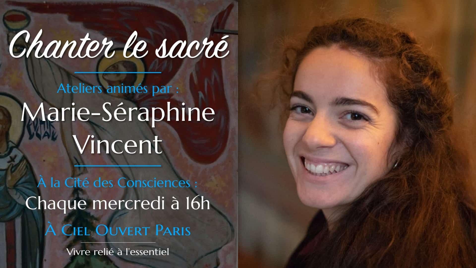 Chanter le sacré – Marie-Séraphine Vincent
