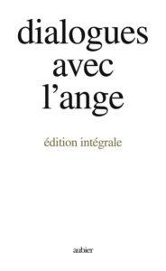 Dialogues avec l'Ange –Couverture livre